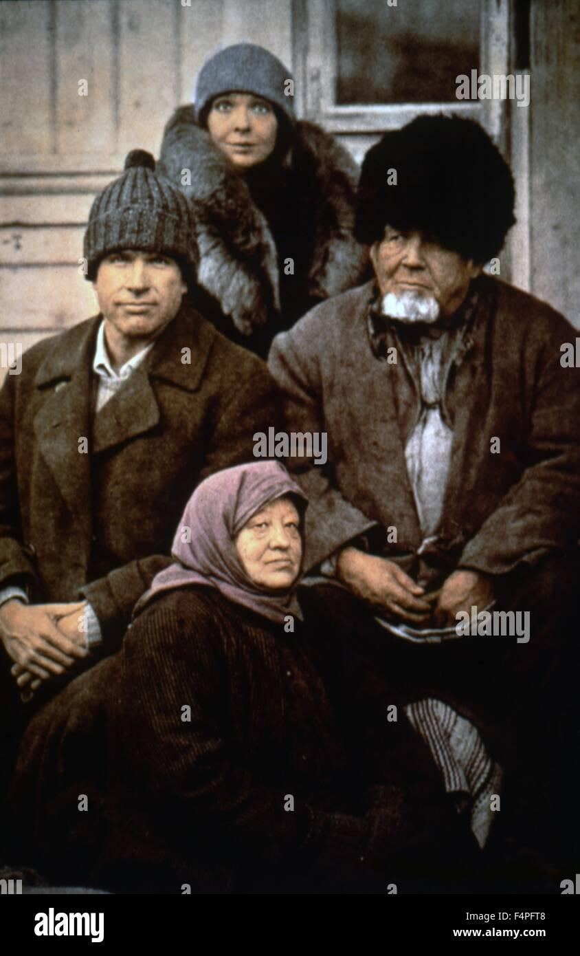 Warren Beatty and Diane Keaton / Reds / 1981 directed by Warren Beatty - Stock Image