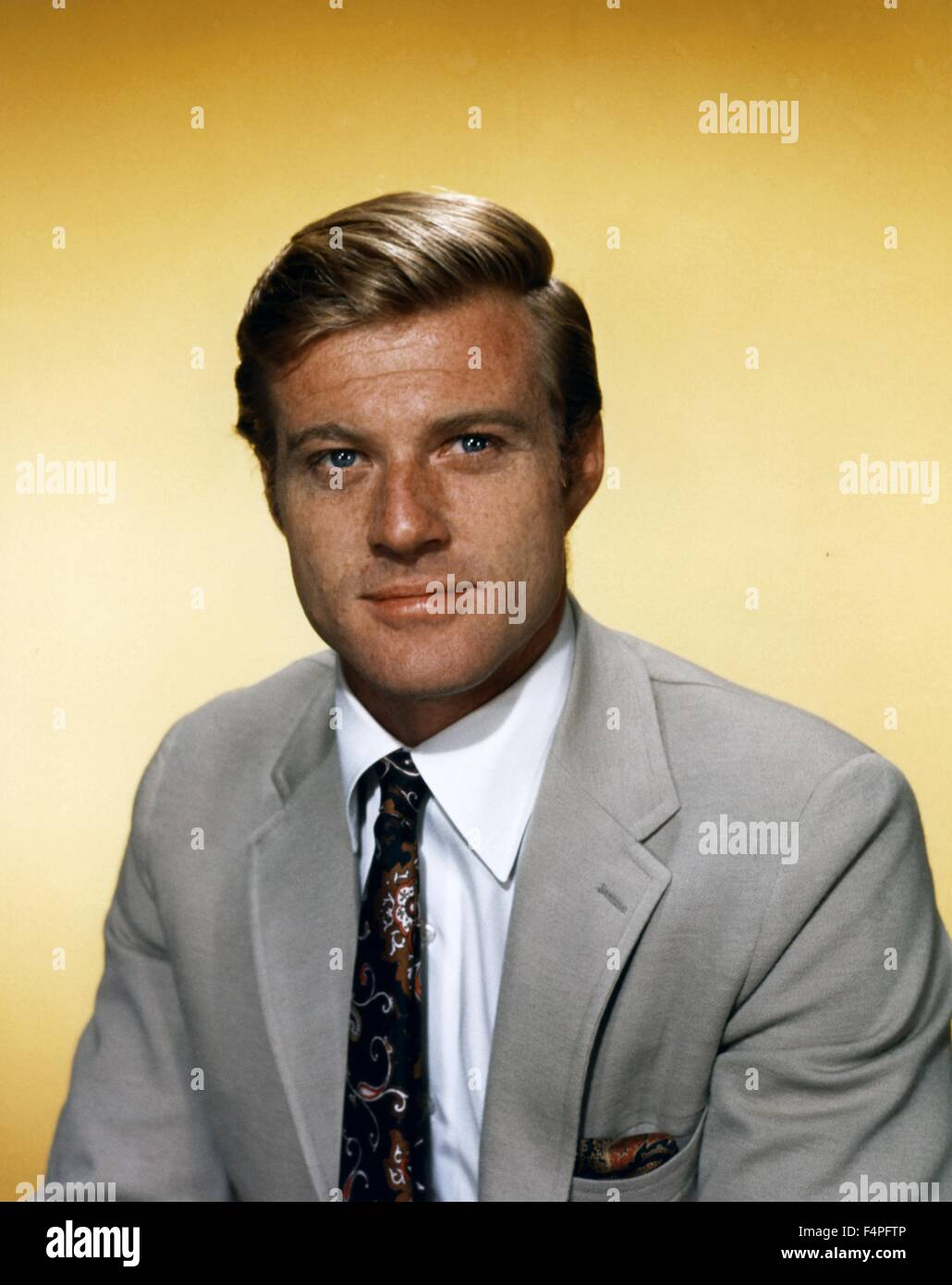Robert Redford in the 60's - Stock Image