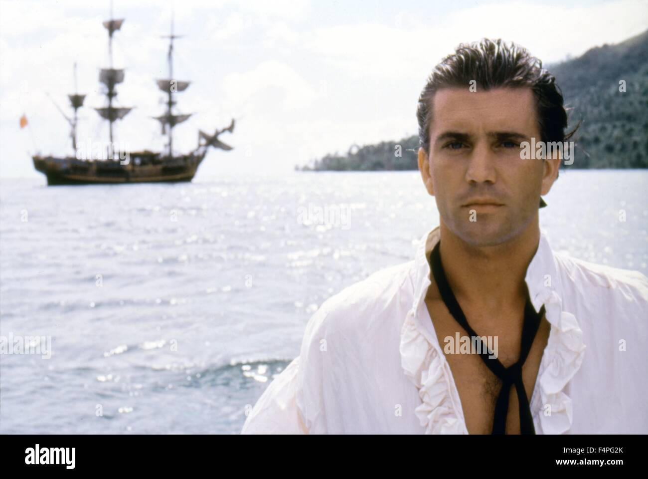 Mel Gibson / The Bounty / 1984 directed by Roger Donaldson - Stock Image