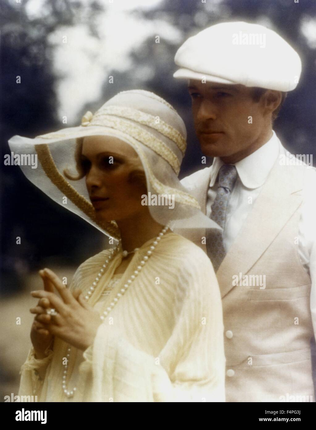 de06ab8fd37d Mia Farrow and Robert Redford / The Great Gatsby / 1974 directed by Jack  Clayton
