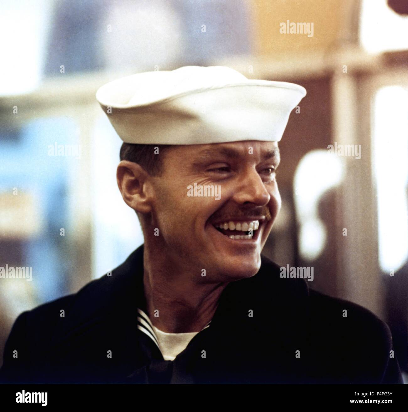 Jack Nicholson / The Last Detail / 1973 directed by Hal Ashby - Stock Image