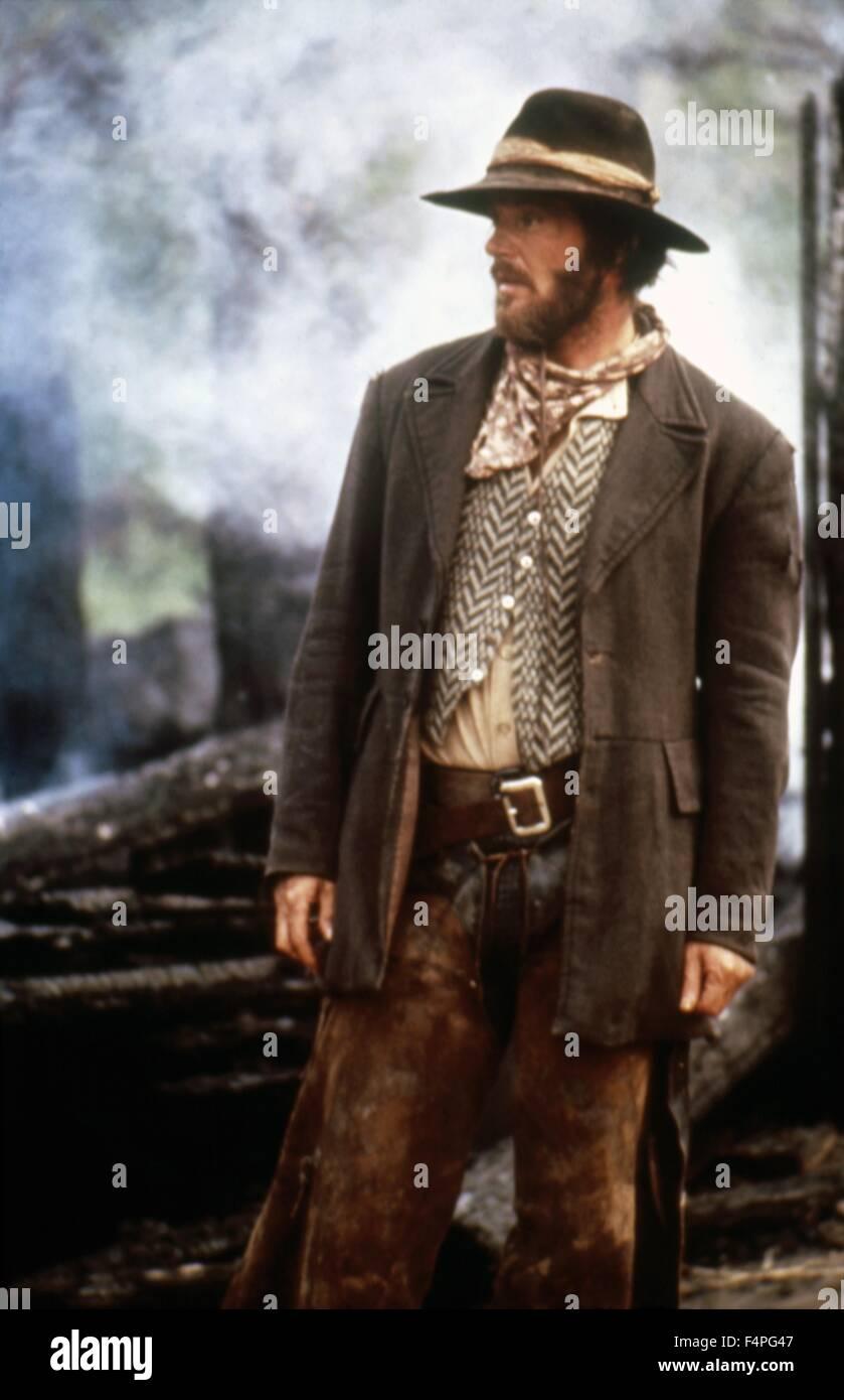 Jack Nicholson / The Missouri Breaks / 1976 directed by  Arthur Penn - Stock Image