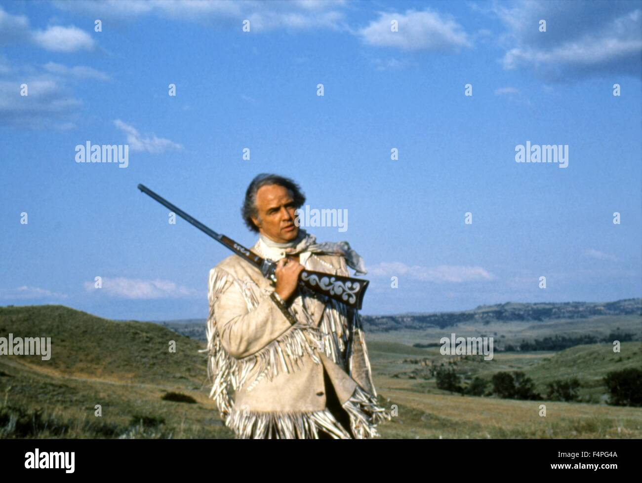 Marlon Brando / The Missouri Breaks / 1976 directed by  Arthur Penn - Stock Image