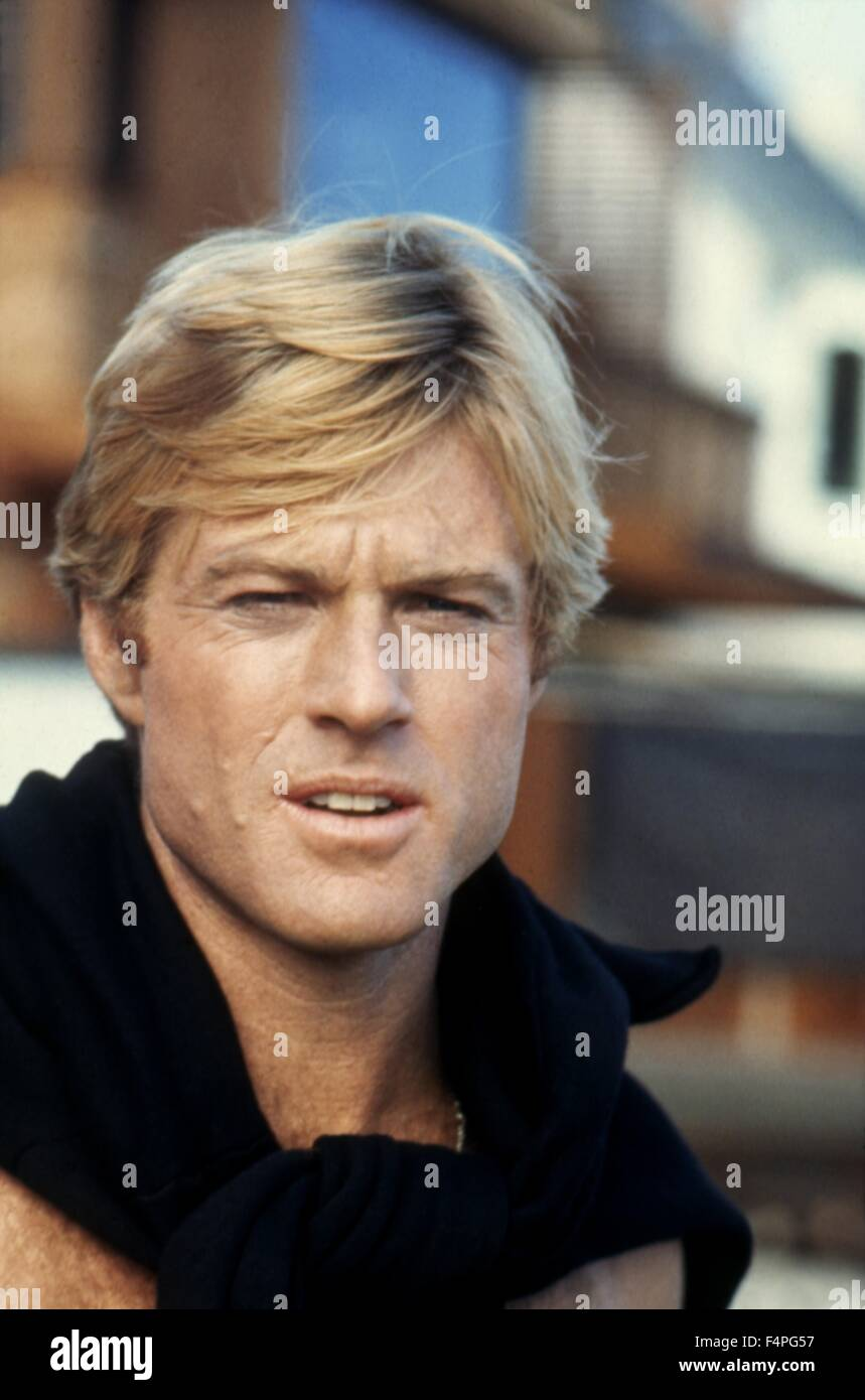 Robert Redford / The Way We Were / 1973 directed by Sydney Pollack - Stock Image