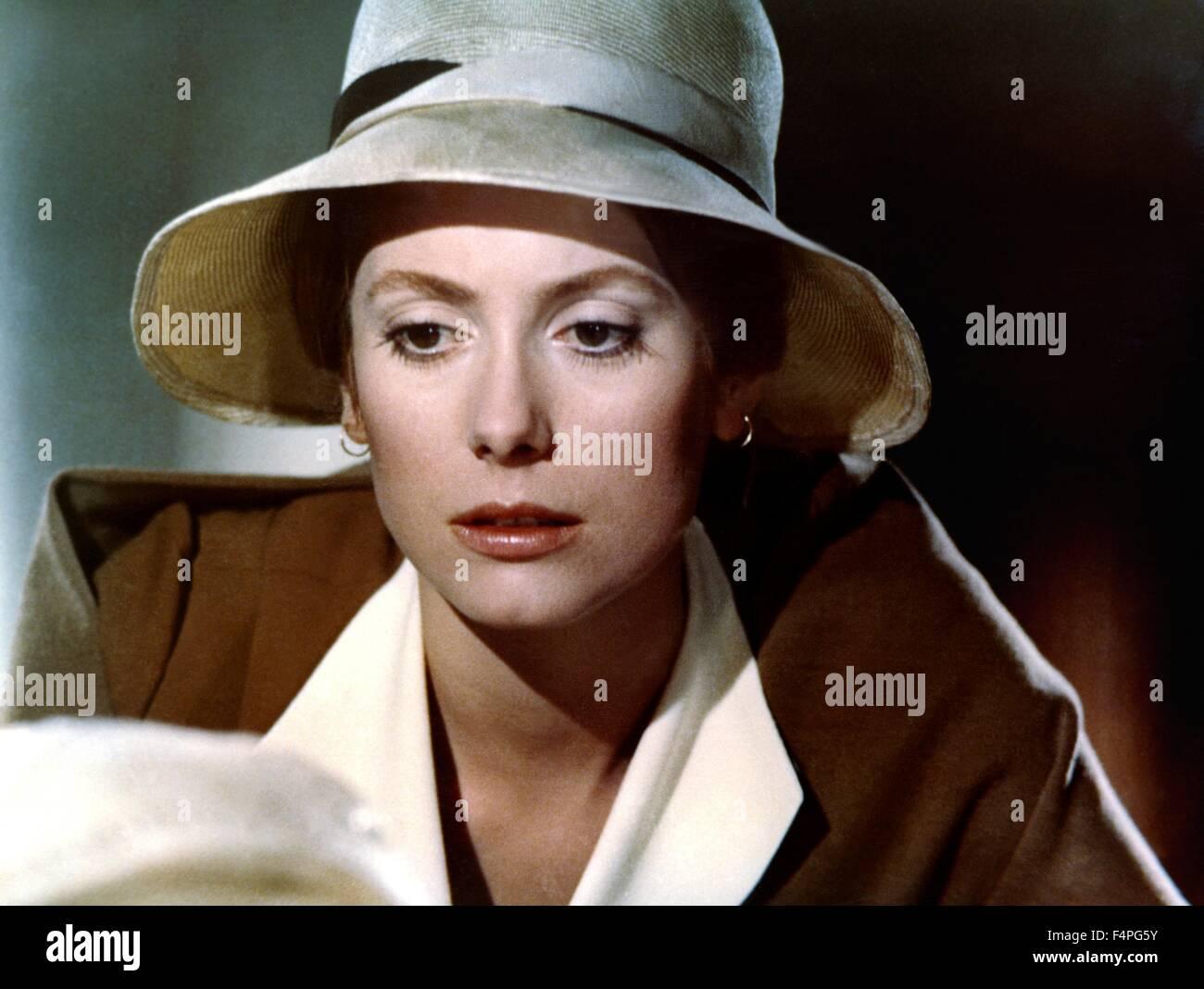 Catherine Deneuve / Tristana / 1970 directed by Luis Bunuel - Stock Image