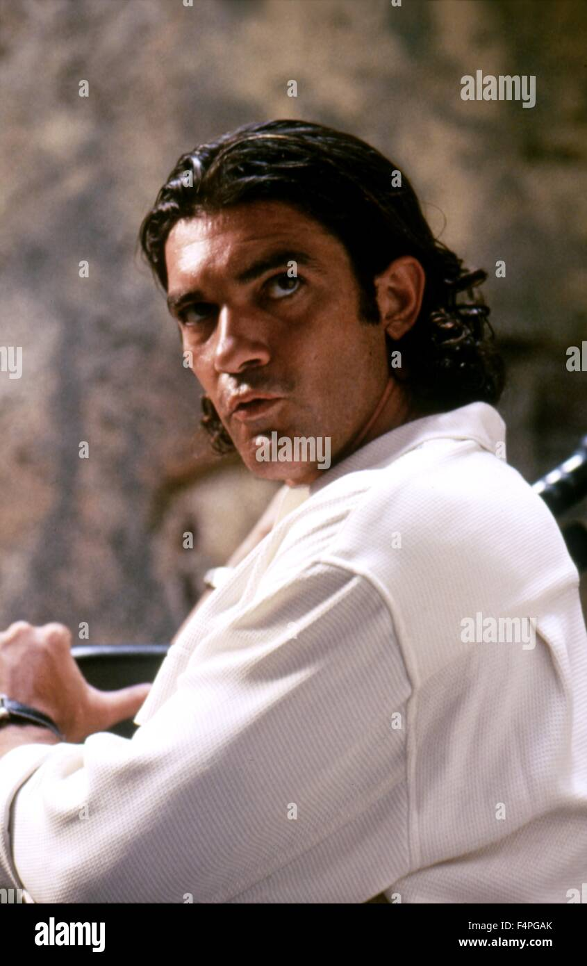 Antonio Banderas / Assassins / 1995 directed by Richard Donner - Stock Image