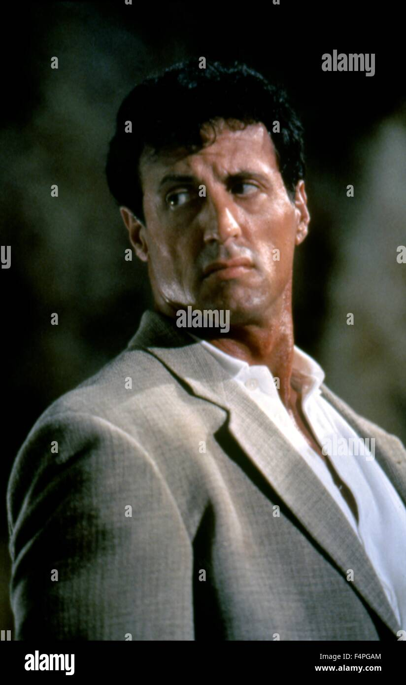 Sylvester Stallone / Assassins / 1995 directed by Richard Donner - Stock Image