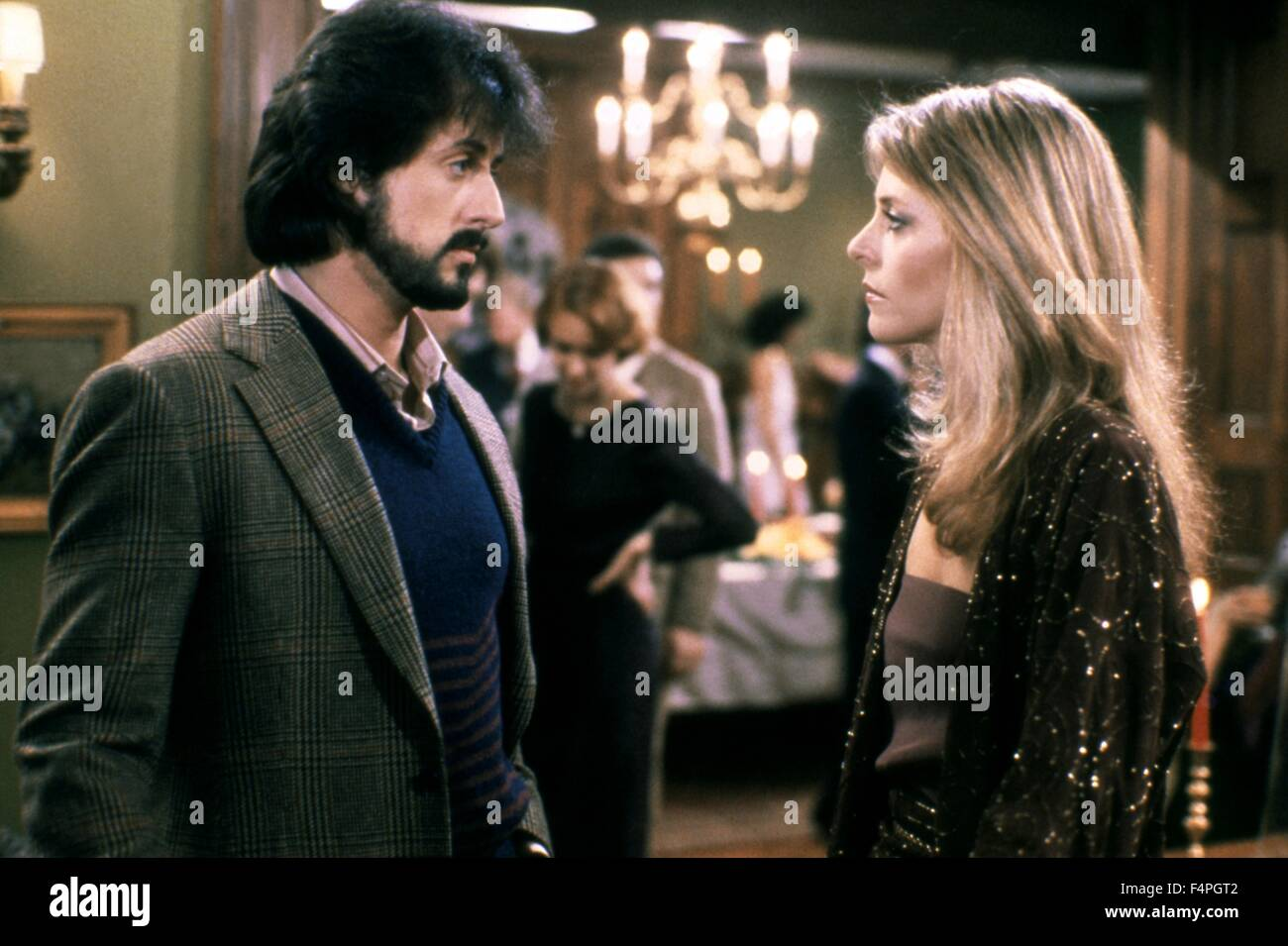 Sylvester Stallone and Lindsay Wagner / Nighthawks / 1981 directed by Bruce Malmuth - Stock Image