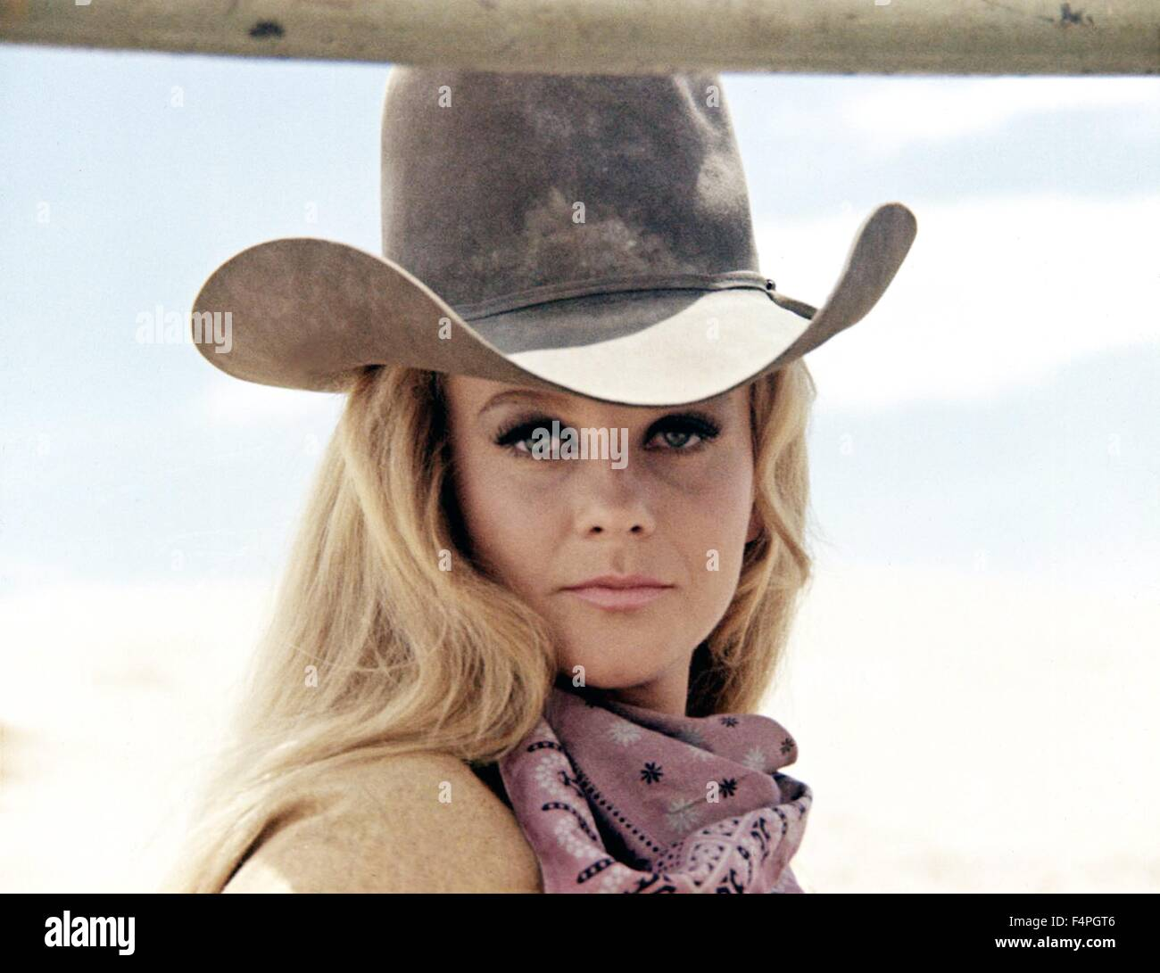 Ann-Margret / The Train Robbers / 1973 directed by Burt Kennedy - Stock Image