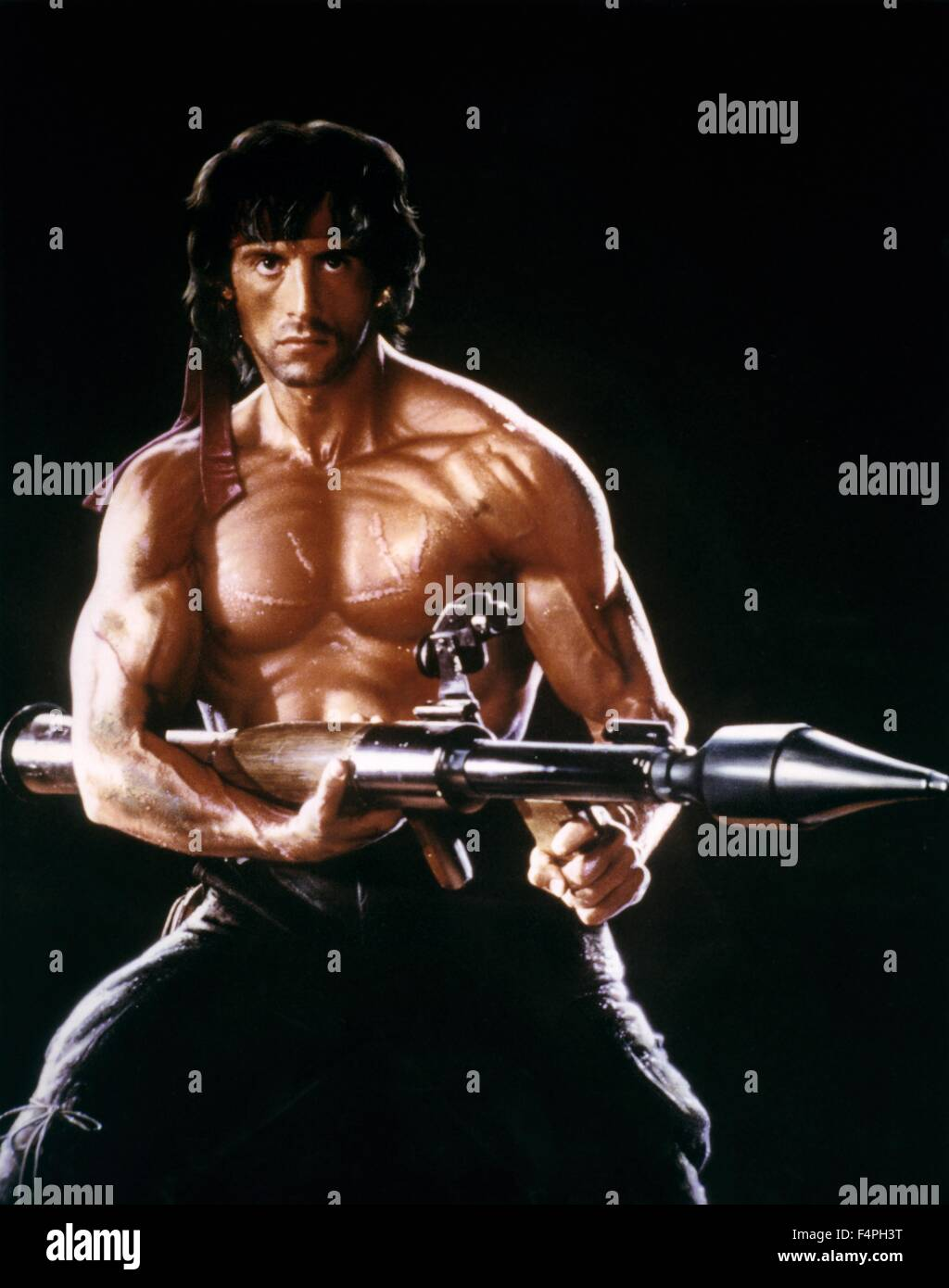 Sylvester Stallone Rambo First Blood Part Ii 1985 Directed By Stock Photo Alamy