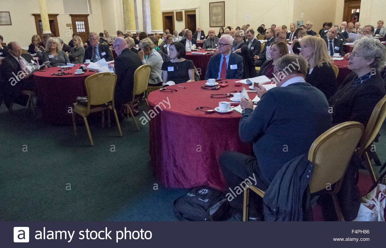 Cardiff. United Kingdom. 20 october 2015. The City of Cardiff Council hosted the 'Standards and Ethics in a Changing - Stock Image