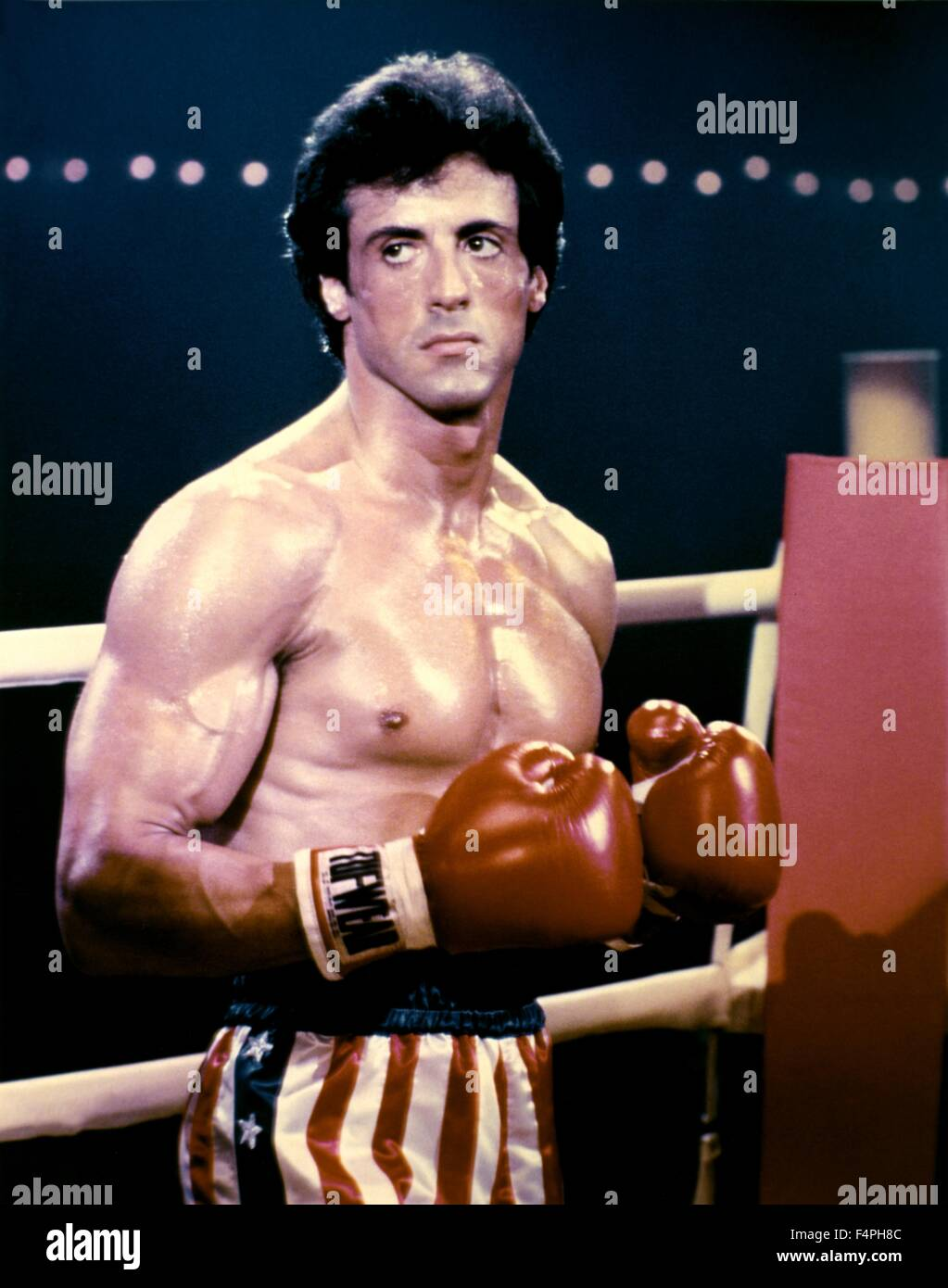 Sylvester Stallone / Rocky III / 1982 directed by Sylvester Stallone - Stock Image