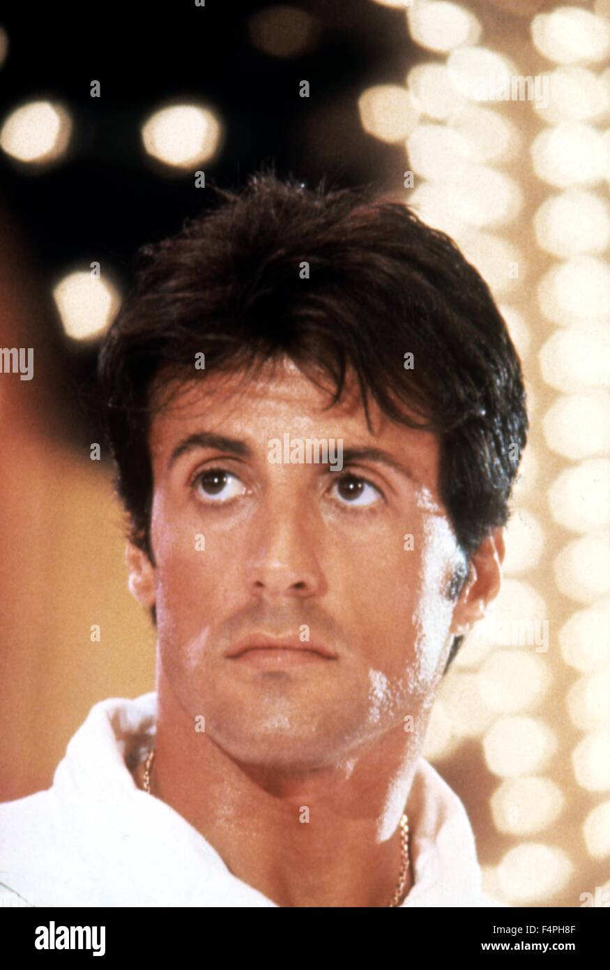 Sylvester Stallone / Rocky IV / 1985 directed by Sylvester Stallone - Stock Image