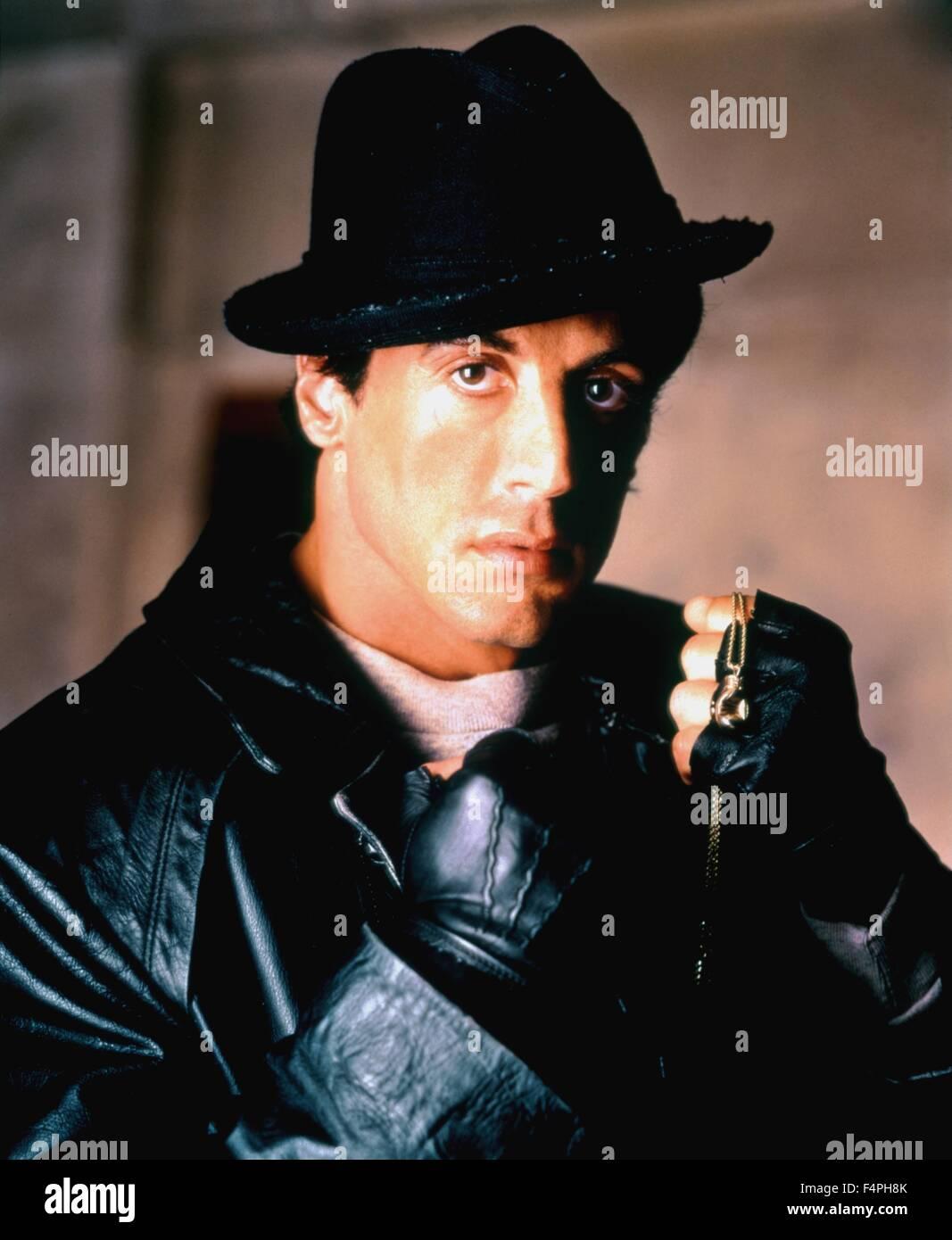 Sylvester Stallone / Rocky V / 1990 directed by John G. Avildsen - Stock Image