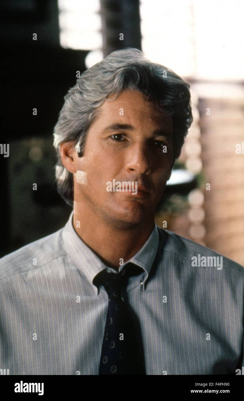 Richard Gere / Final Analysis / 1992 directed by Phil Joanou - Stock Image