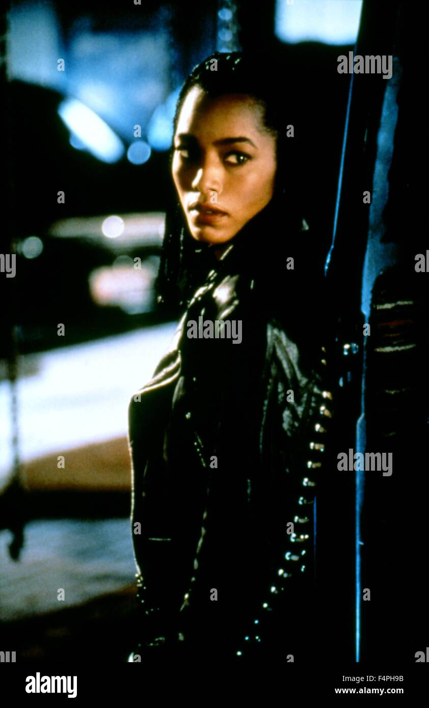 Angela Bassett / Strange Days / 1995 directed by Kathryn Bigelow - Stock Image