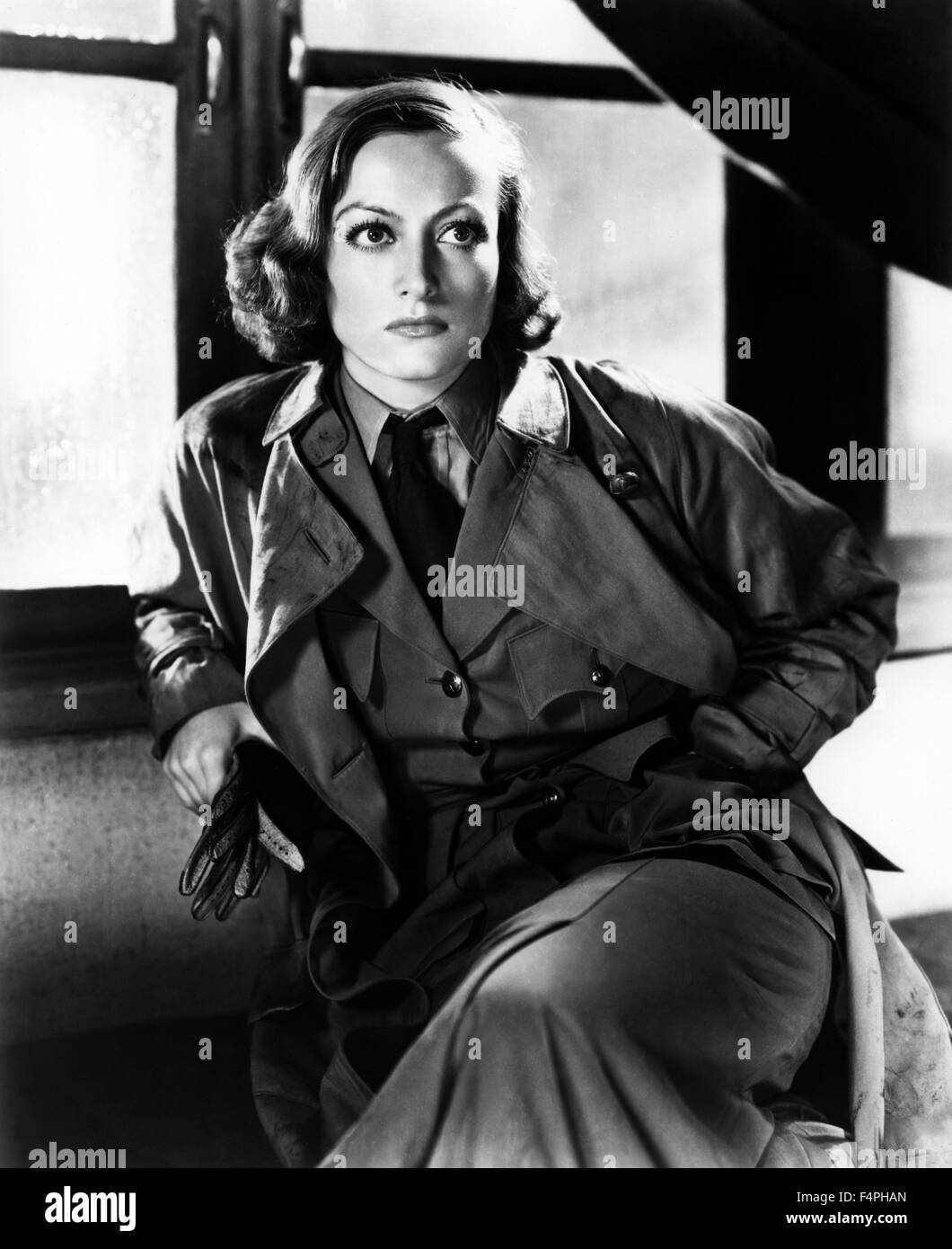 Joan Crawford / Today we live / 1933 directed by Howard Hawks - Stock Image