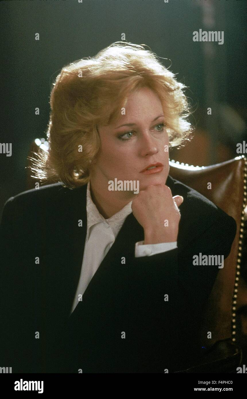 Melanie Griffith / Working girl / 1988 realise par Mike Nichols - Stock Image