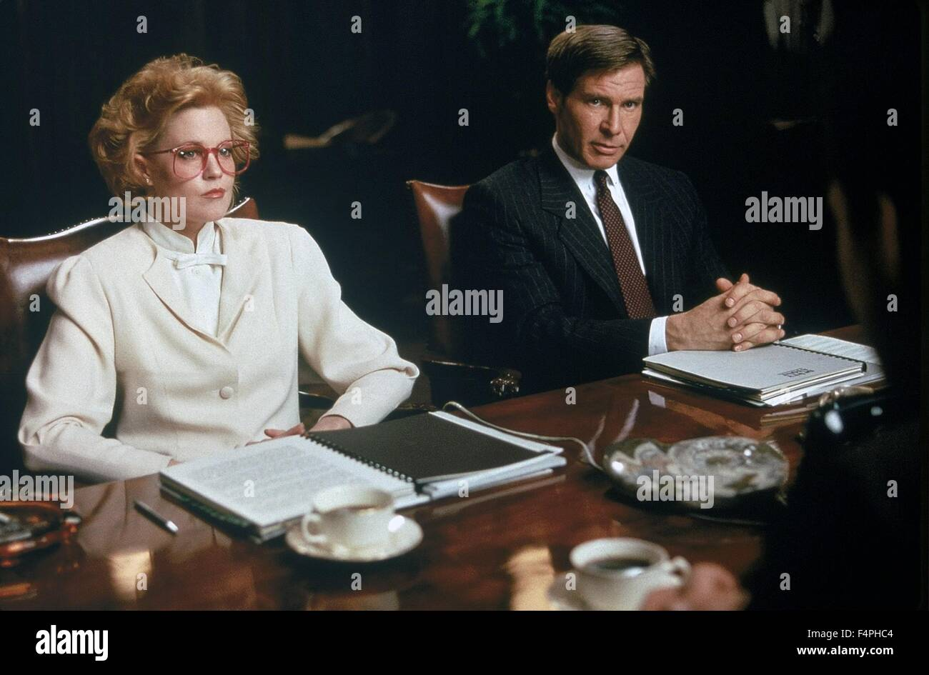 Melanie Griffith and Harrison Ford / Working girl / 1988 realise par Mike Nichols - Stock Image