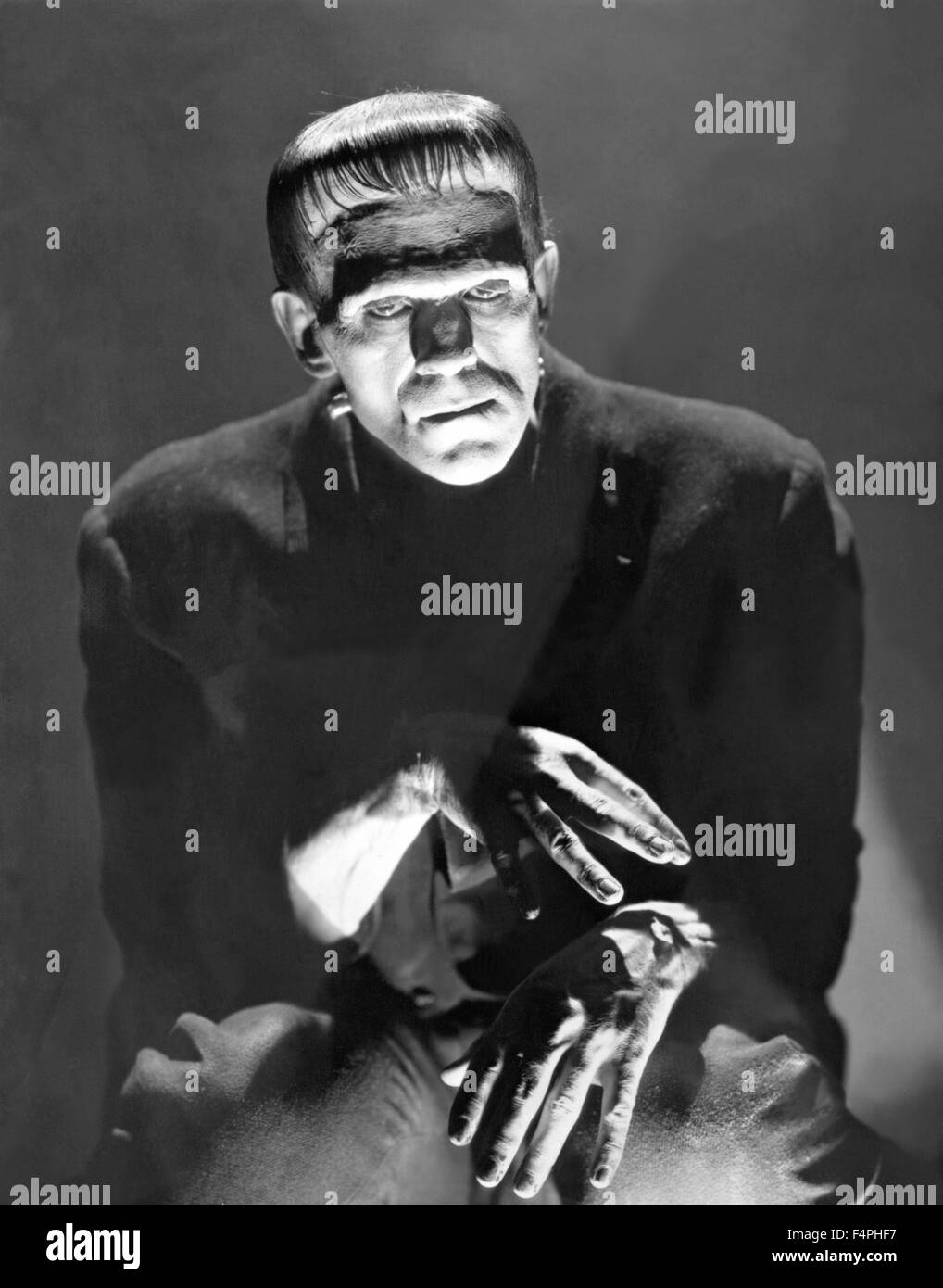 Boris Karloff / Frankenstein / 1931 directed by James Whale [Universal Pictures] - Stock Image