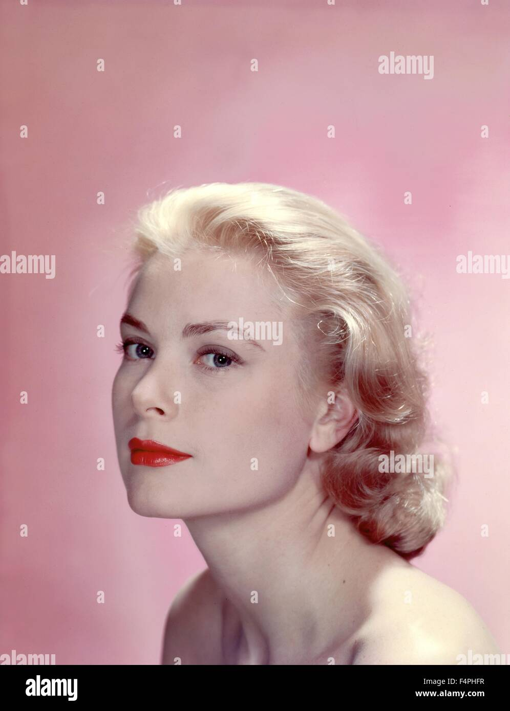 Grace Kelly in the 50's - Stock Image