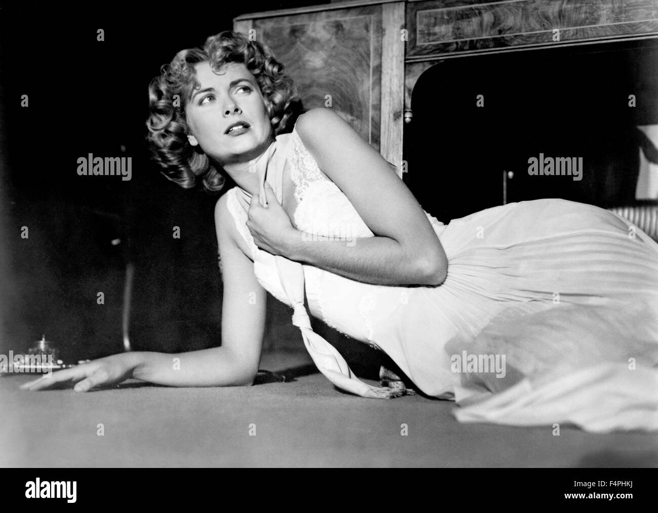 Grace Kelly / Dial M for Murder / 1954 directed by Alfred Hitchcock [Warner Bros. Pictures] - Stock Image