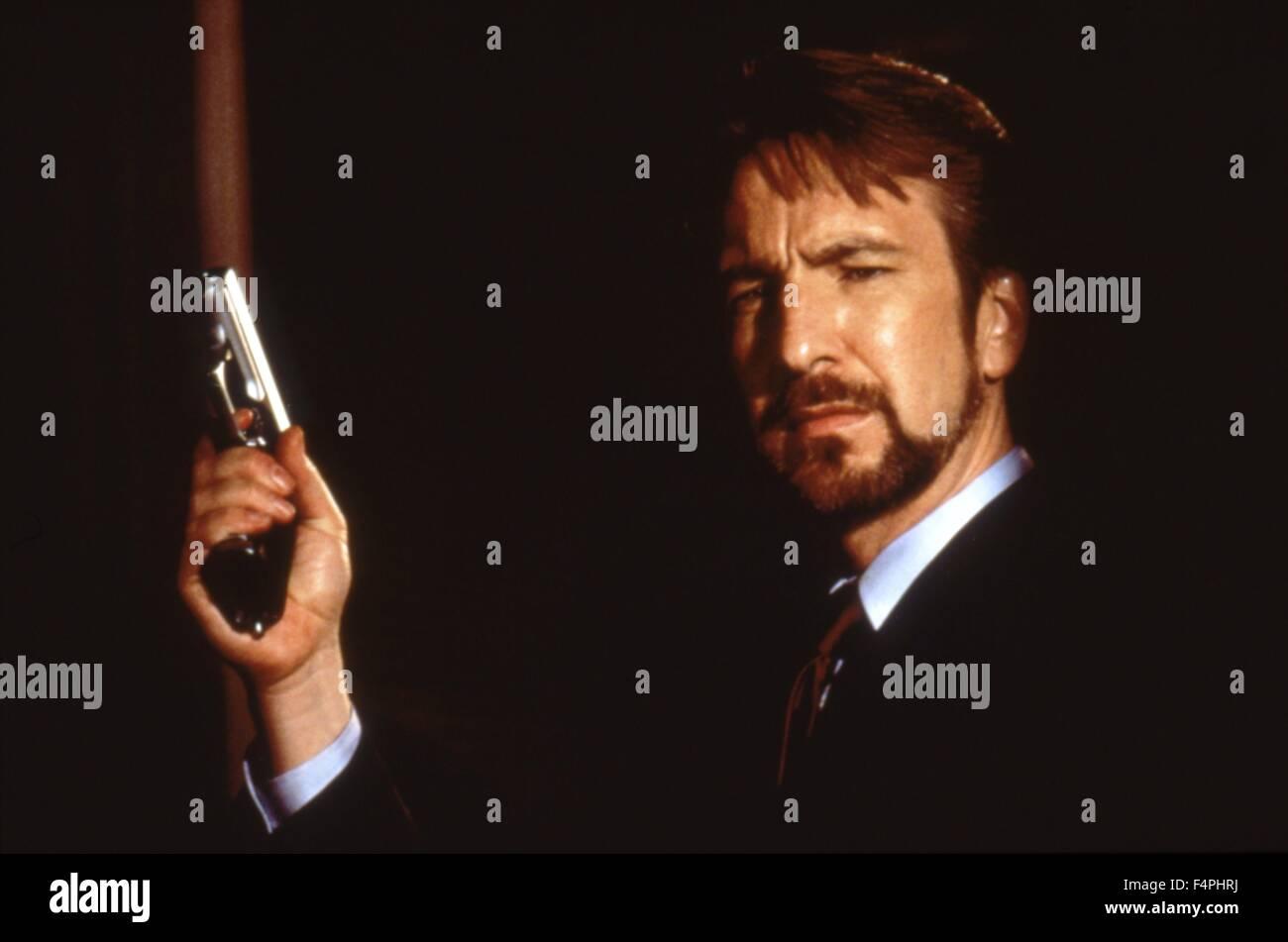 Alan Rickman / Die Hard / 1988 directed by John McTiernan [20th Century Fox] - Stock Image