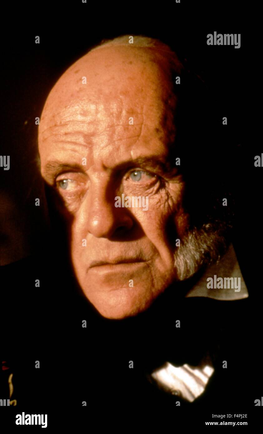 Anthony Hopkins / Amistad / 1997 directed by Steven Spielberg [Dreamworks Pictures] Stock Photo