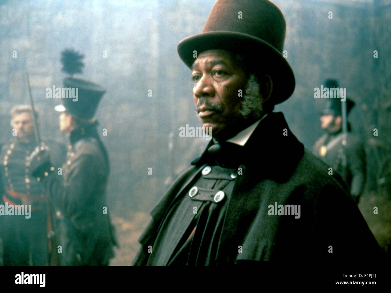 Morgan Freeman / Amistad / 1997 directed by Steven Spielberg [Dreamworks Pictures] - Stock Image
