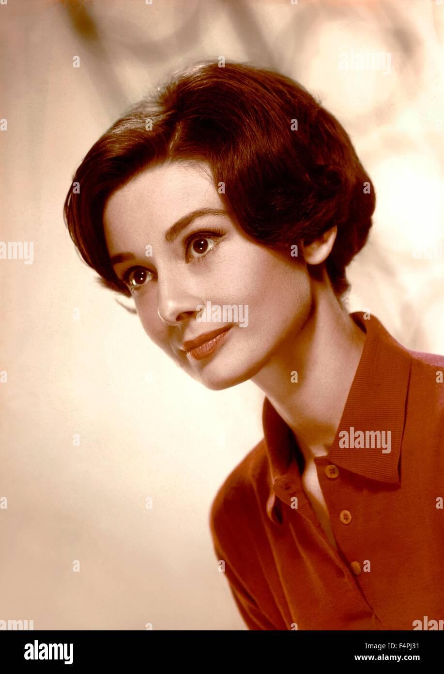 Audrey Hepburn / 1958 [Metro-Goldwyn-Mayer Pictures] - Stock Image
