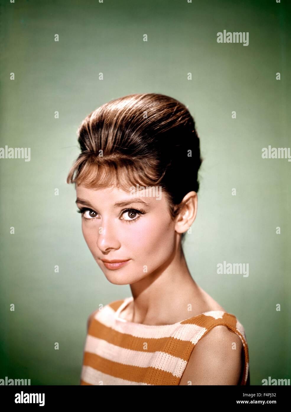 Audrey Hepburn / 1961 - Stock Image