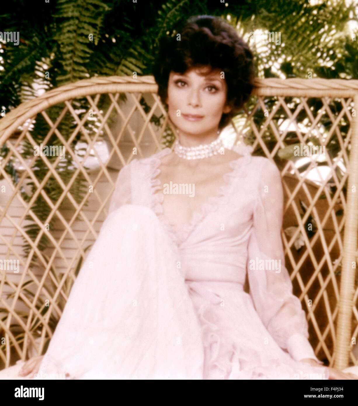Audrey Hepburn / 1976 [Columbia Pictures] - Stock Image