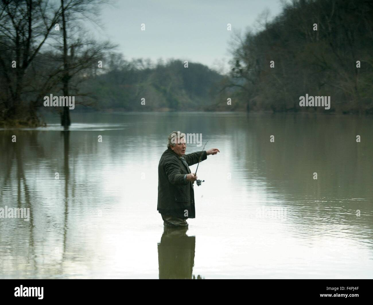 Albert Finney / Big Fish / 2003 directed by Tim Burton [Columbia Pictures] - Stock Image