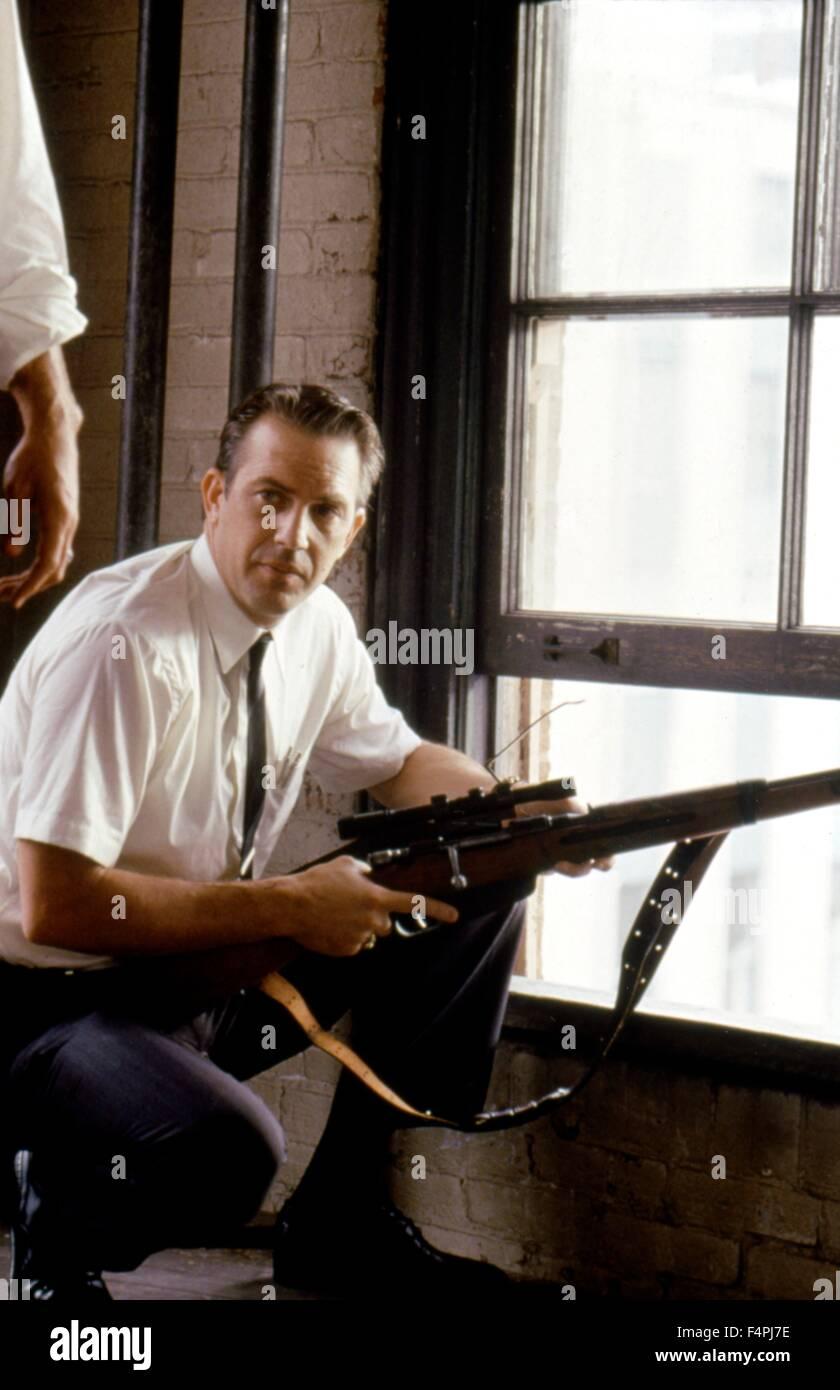 Kevin Costner / JFK / 1991 directed by Oliver Stone [WARNER BROS. PICTURES] - Stock Image