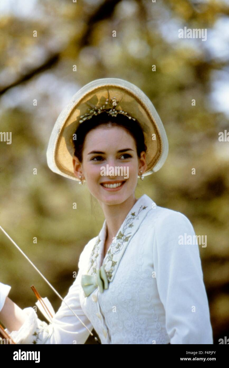 Winona Ryder / The Age of Innocence / 1993 directed by Martin Scorsese [Columbia Pictures] - Stock Image