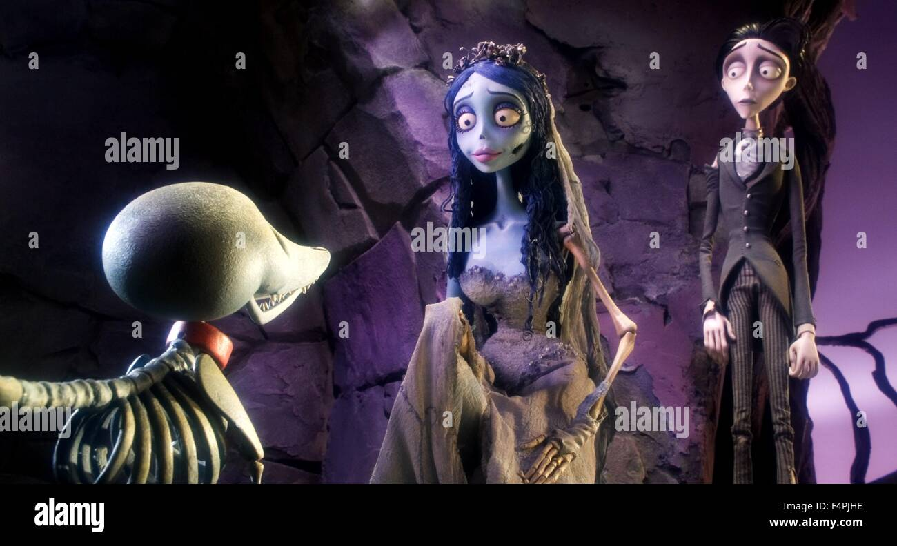 Scraps The Skeleton Dog With The Corpse Bride Voiced By Helena