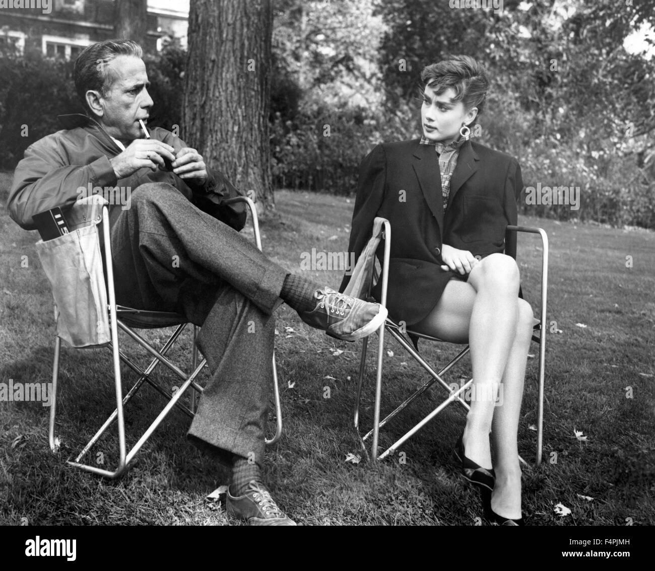 Audrey Hepburn Sabrina Stock Photos & Audrey Hepburn ...