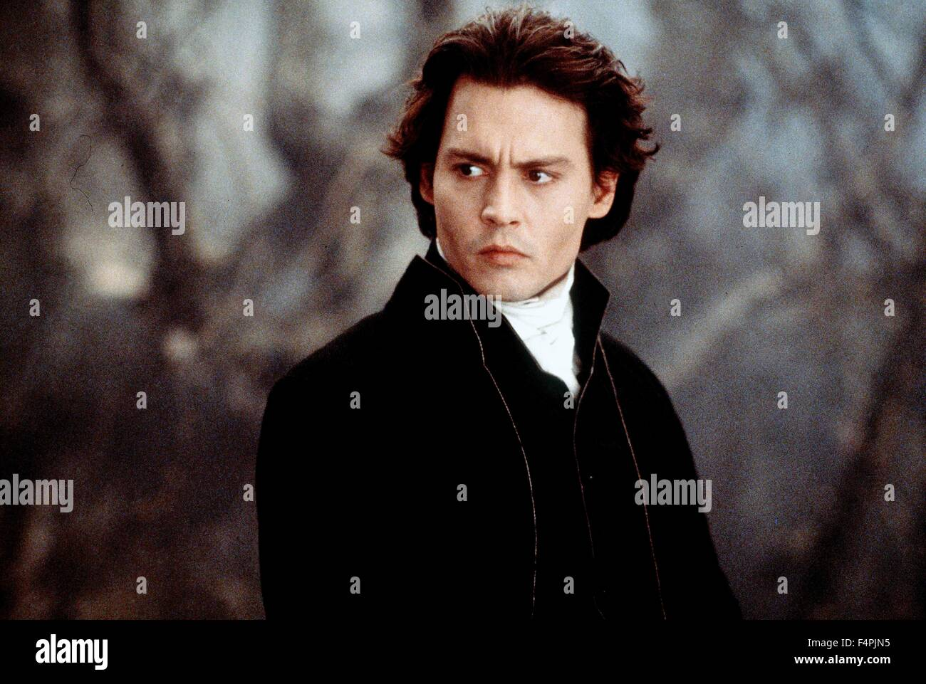 Johnny Depp / Sleepy Hollow / 1999 directed by Tim Burton [Paramount Pictures] - Stock Image