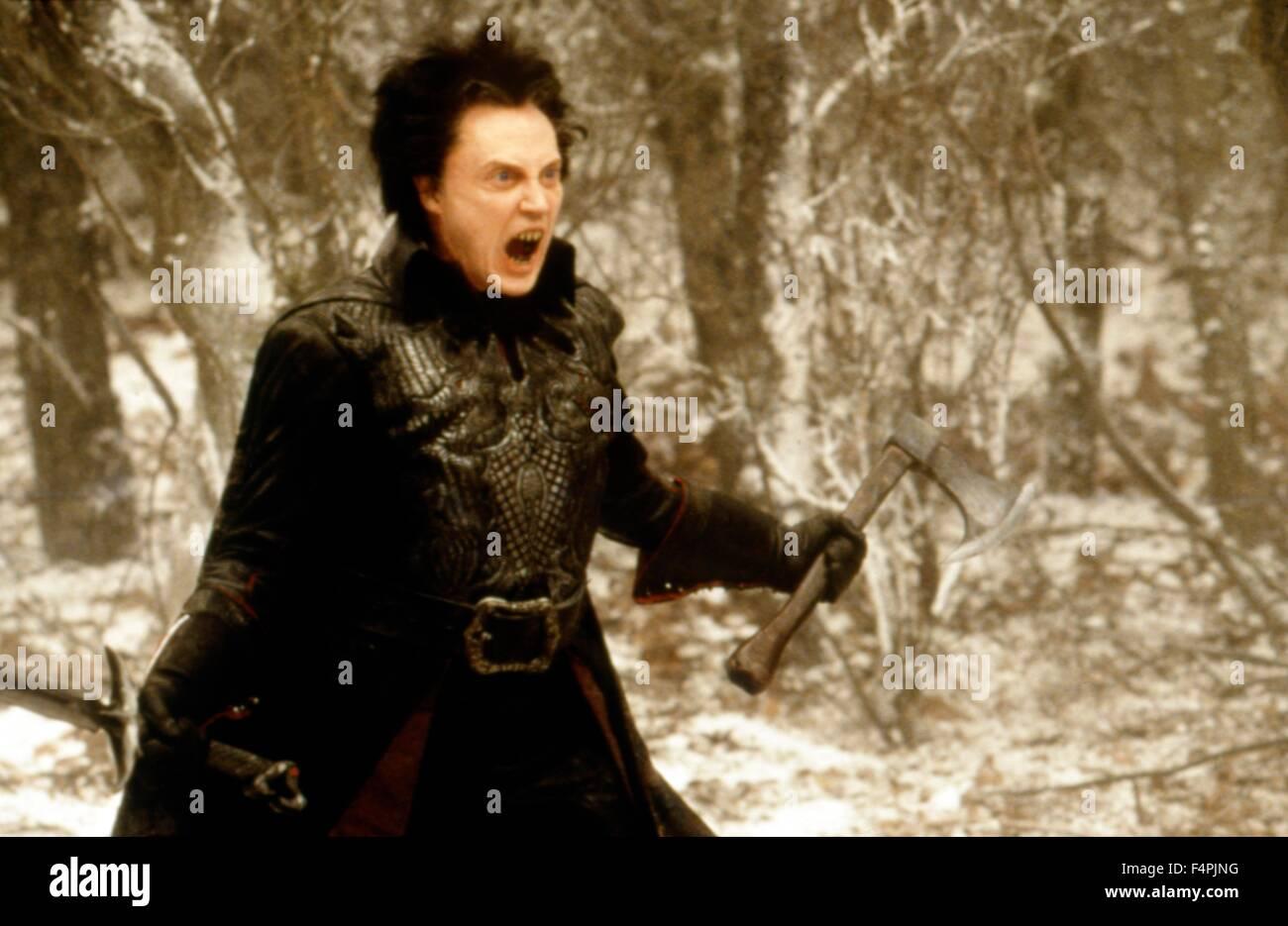 Christopher Walken / Sleepy Hollow / 1999 directed by Tim Burton [Paramount Pictures] - Stock Image