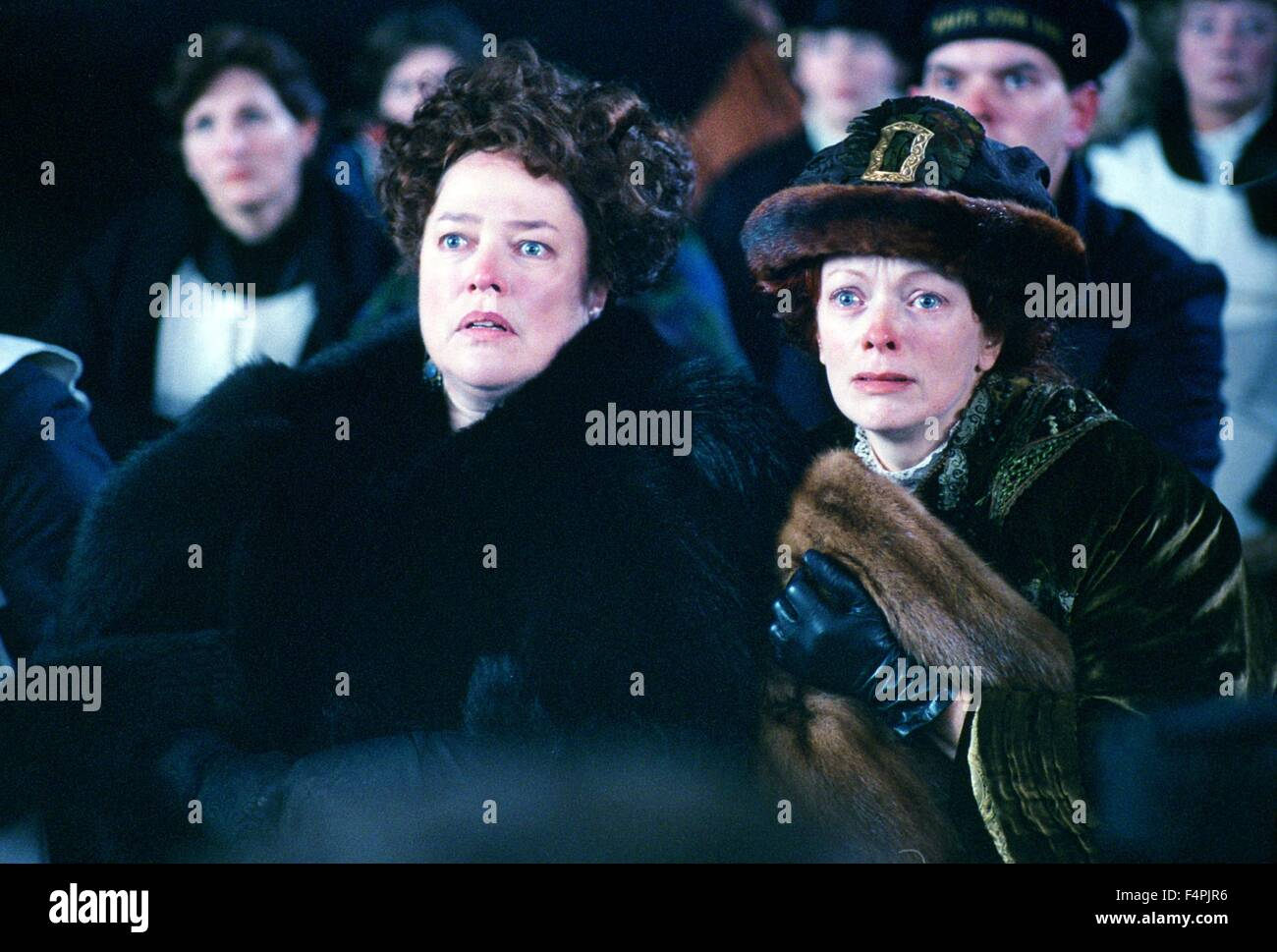 Kathy Bates and Frances Fisher / Titanic / 1997 directed by James Cameron [Twentieth Century Fox Pictures] - Stock Image