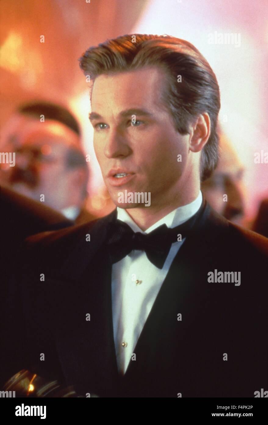 Val Kilmer / Batman Forever / 1995 directed by Joel Schumacher [Warner Bros. Pictures] - Stock Image