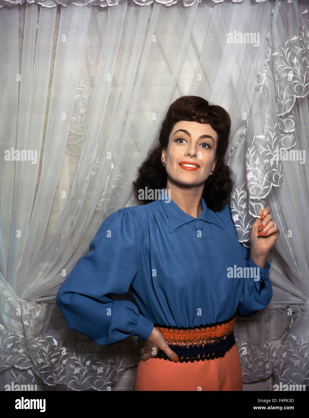 Joan Crawford in the 40's - Stock Image