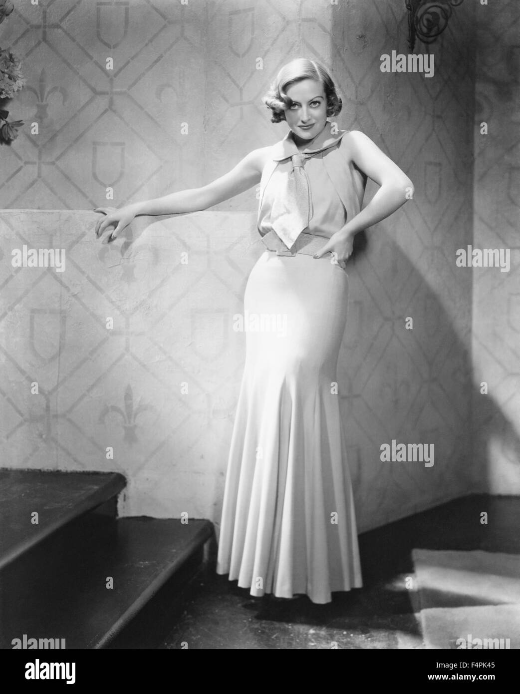 Joan Crawford in the 30's - Stock Image