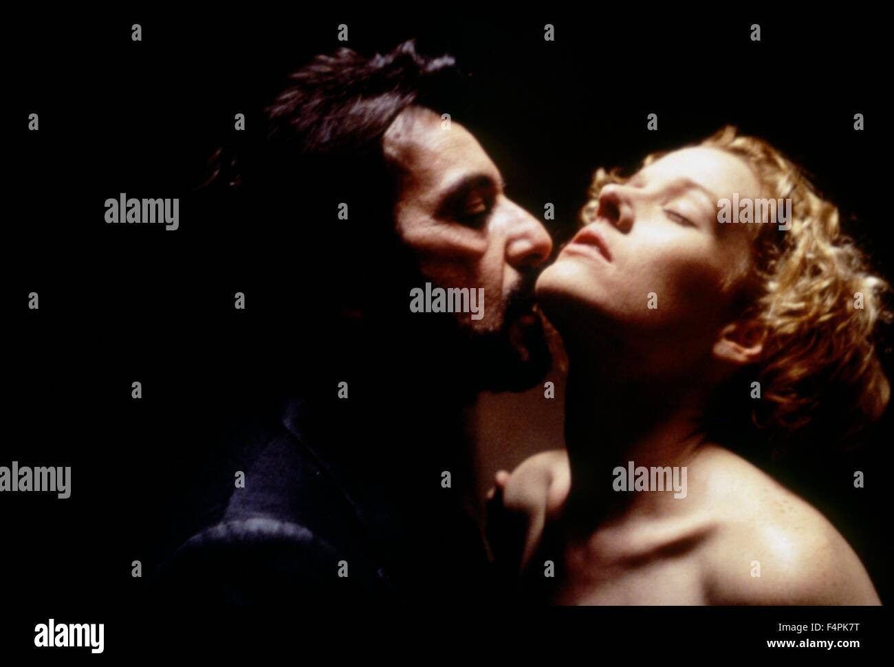 Al Pacino and Penelope Ann Miller / Carlito's Way / 1993 directed by Brian De Palma [Universal Pictures] - Stock Image
