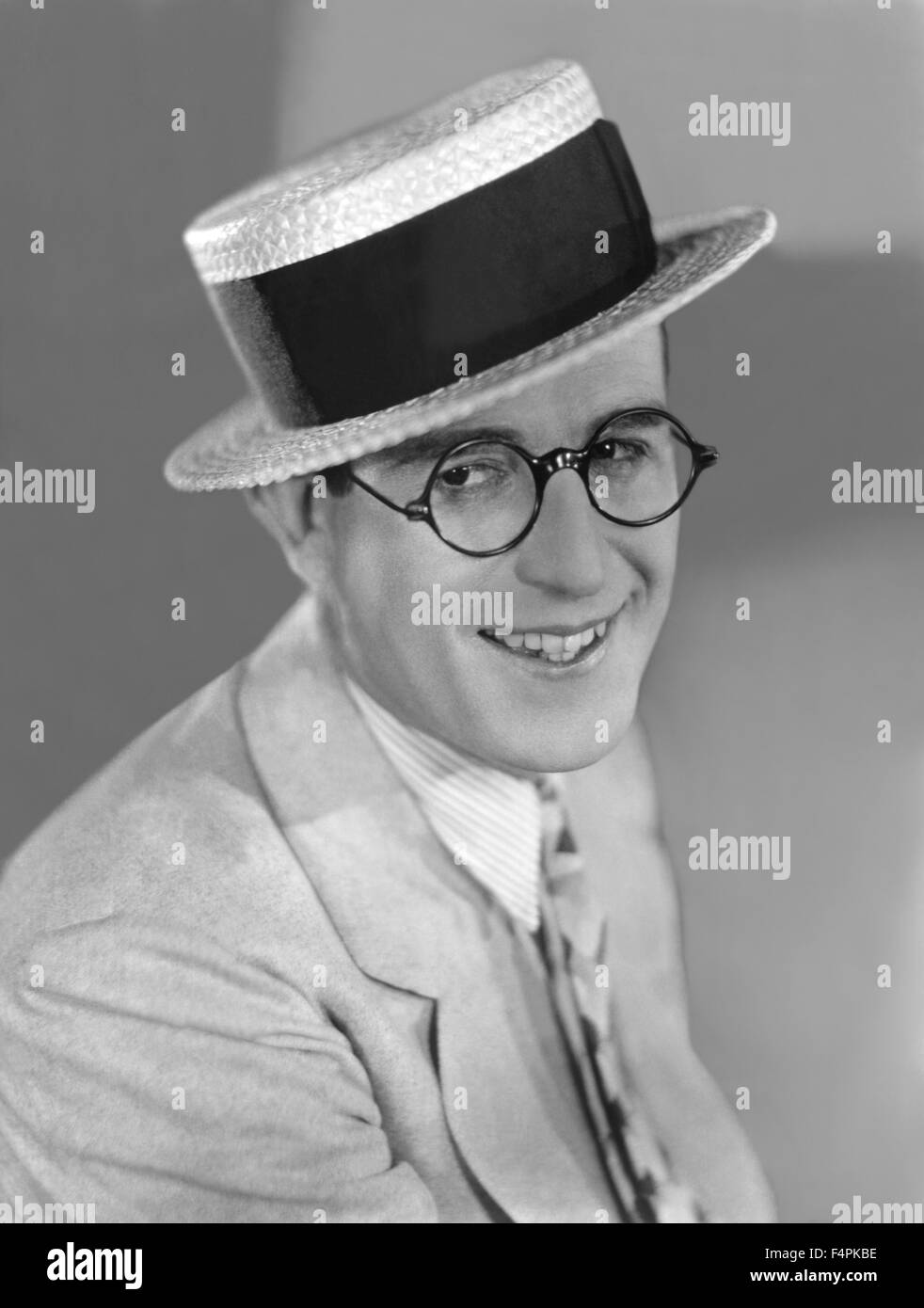 Harold Lloyd in the 20's - Stock Image