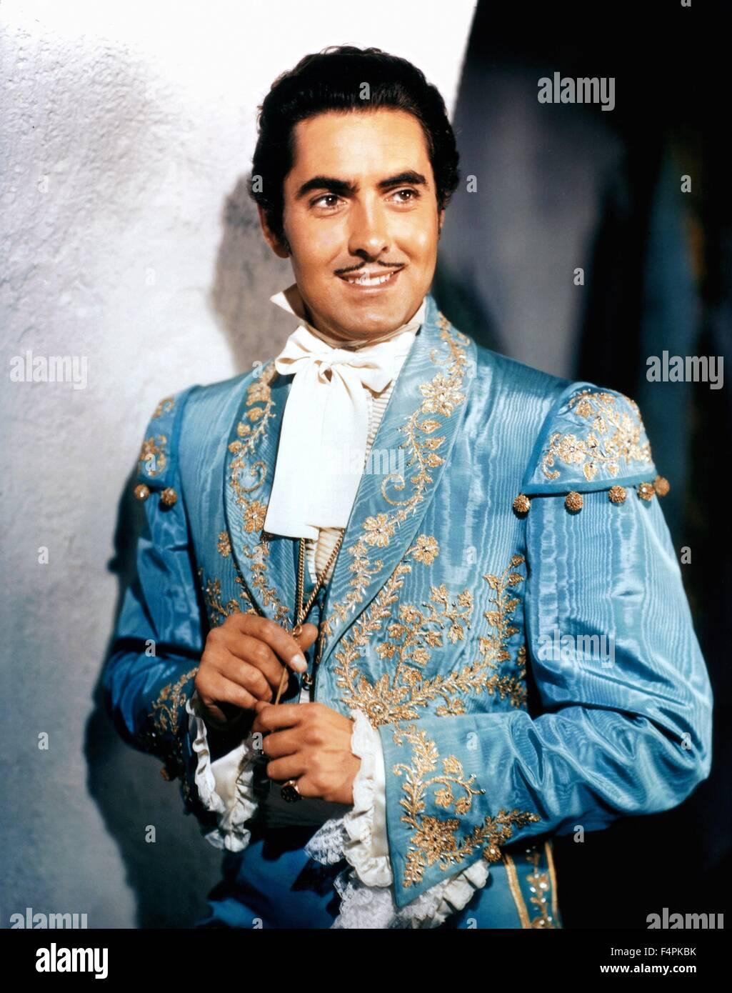 Tyrone Power / The mark of Zorro / 1940 directed by Rouben Mamoulian [Twentieth Century Fox Pictures] - Stock Image