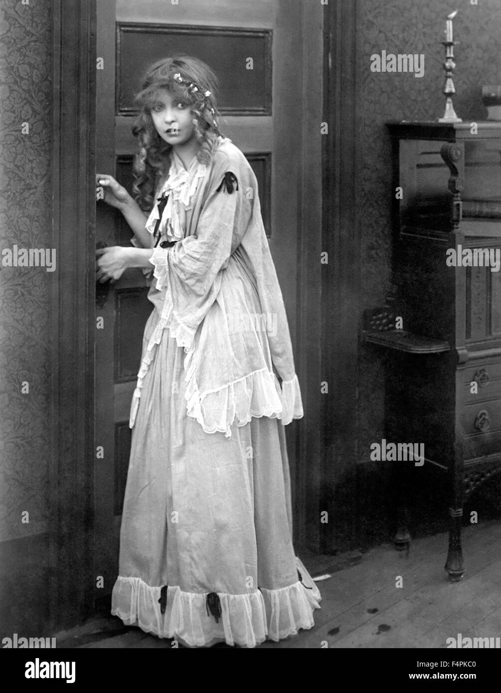 Lillian Gish / The Birth of a Nation / 1915 directed by D.W. Griffith [Epoch Producing Corporation] - Stock Image