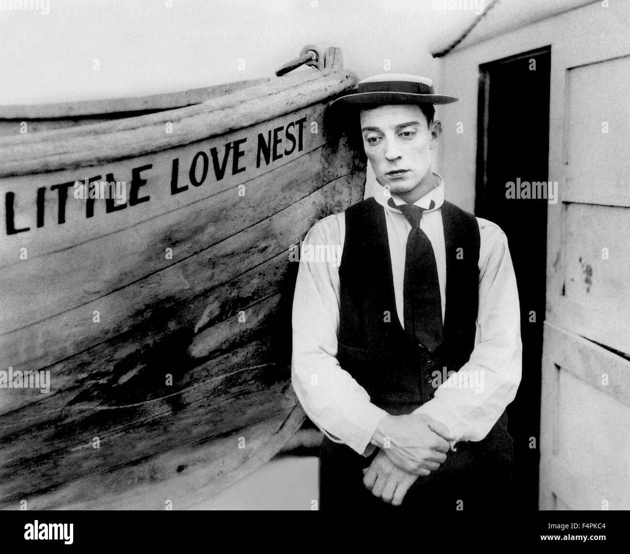 Buster Keaton / The Love Nest / 1923 directed by Buster Keaton  [Associated-First National Pictur] - Stock Image