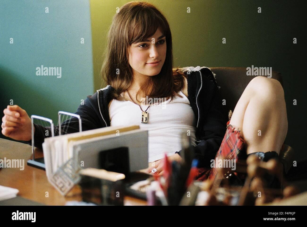 Keira Knightley / Domino / 2005 directed by Tony Scott [New Line Cinema] - Stock Image