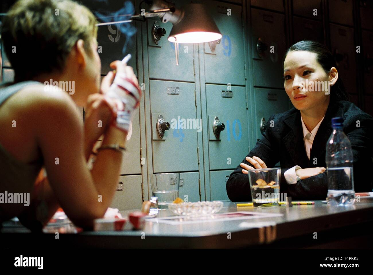 Keira Knightley and Lucy Liu / Domino / 2005 directed by Tony Scott [New Line Cinema] - Stock Image